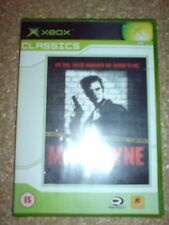 MAX PAYNE (XBOX) USED