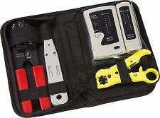 Datos de cableado estructurado Knightsbridge Kit de instalación de redes y herramientas de Cable LAN