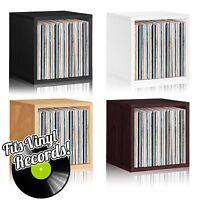 Vinyl Record Album LP Album Storage Cube Stackable Bookcase FREE SHIP ($35/Cube)