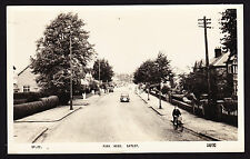 RPPC Real Photo Postcard Park Road Gatley Stockport Manchester Street View SK8