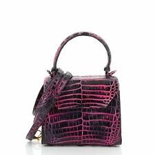 Nancy Gonzalez Lily Top Handle Bag Crocodile Mini