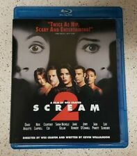 Scream 2 Blu-Ray RARE OOP! Wes Craven / Neve Campbell Horror Classic.