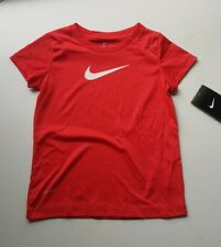 Girl's 's Nike Dri Fit Stay Cool Shirt Top Sz 4