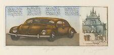 Dieter Portugall, VW Käfer I ,Radierung, Originalgrafik,