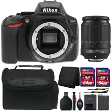 Nikon D5600 24.2MP DSLR Camera with 18-140mm Lens and Complete Accessory Kit