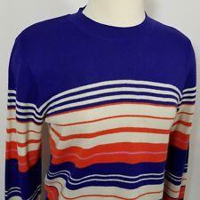 Rockies Rocky Mountain Clothing Co Ski Sweater Stripe Light weight vintage
