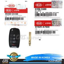 Genuine Fob Keyless Entry Remote Flip Key for 16-19 Kia Sorento Oem 95430C5100