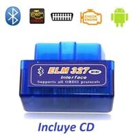 Scaner multimarca OBD2 Bluetooth Android ODBII Diagnosis para coches