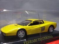 Ferrari Collection Testarossa 1/43 Scale Box Mini Car Display Diecast 17