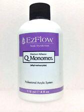 EzFlow Nail Systems - Q Monomer Acrylic Nail Liquid - Small 4oz