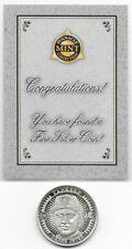 1998 Derek Jeter Pinnacle Mint SOLID SILVER Coin - 999 Fine Silver - RARE