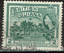 British Guiana Famous Batanical Gardens stamp 1956