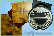 "2010 Treasures of Australia ""GOLD"" 1oz. Silver Proof"