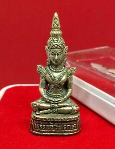 Phra Kaew Morakot Buddha Statue LP Mhun Wat Banjan Holy Talisman Thai Amulet