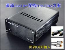 Upgrade Parallel PCM1794 + AK4118 DAC decoder 24Bit 192K Optical Coaxial to RCA