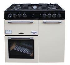Leisure CK90F232C 90cm Dual Fuel Range Cooker in Cream Beige Freestanding #2083