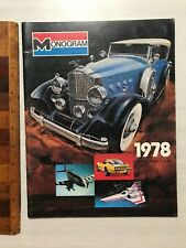 MONOGRAM MODEL KIT 1978 TOY FAIR CATALOG BATTLESTAR GALACTICA SHOGUN WARRIORS!!!
