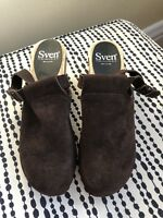 NEW - Sven No. 6 Halter Top Chocolate Brown Suede Clogs - 38 - Fall / Winter