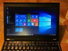 Lenovo ThinkPad Laptop X220 i7 8GB 256GB SSD Genuine Windows 10p Webcam