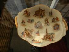RARE: Vintage Royal Winton Grimwades Old English Markets Dish 1952