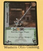 UFS Onslaught #077 Ultra Rare Foil USED Universal Fighting System Card Game