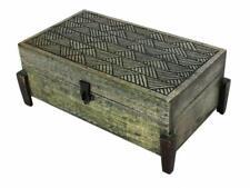 Wooden Jewellery Trinket Box Organiser Keepsake Storage Chest Handcrafted