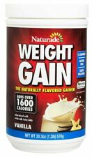 Naturade Weight Gain Instant Nutrition Drink Mix, Vanilla ,20.3 Ounces