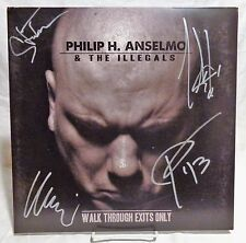 """Phil Anselmo """"Down"""" group Signed Autographed Album B"""