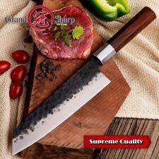 Handmade Chef Knife 8 inch Japanese Kiritsuke Shape High Carcon 4cr13 Steel NEW