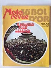 MOTO REVUE N°2091 22 SEPTEMBRE 1972 36e BOL D'OR