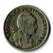 Moneda Republica Portuguesa 1952 1 escudo coin