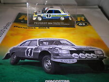 deagostini rally car collection Issue 63 1976 Peugeot 504 Jean-Pierre Nicolas J