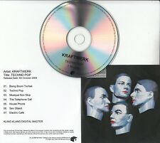 KRAFTWERK Techno Pop 2009 UK Mute remastered 7-track promo test CD Electric Cafe