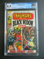 Amazing Adventures 1  The Inhumans and the Black Widow CGC 6.5  White Pages