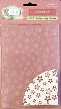 Crafters Companion Lazy Daisy Embossing Folder