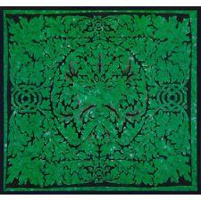 Celtic Knot Pagan Deity Green Man Emerald Full Tapestry