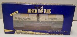 American Flyer 6-48524 Bordens Wabash Flatcar Mint In Box NO RES !