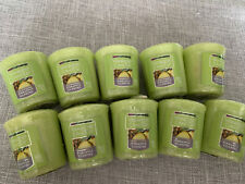 Lot Of 10 Yankee Candle Pineapple Cilantro  Votives New Free Shipping