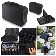Pro Large Makeup Bag Cosmetic Case Storage Handle Organizer Travel Kit US