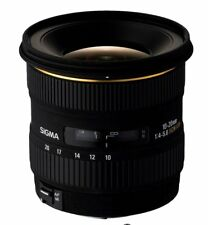 Objectif reflex Sigma DC EX 10 - 20 mm f/4 - 5.6 HSM, Monture Canon