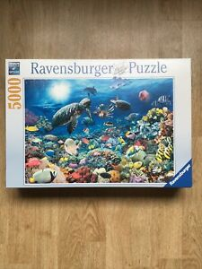 Ravensburger Jigsaw Puzzle 5000 piece Underwater Tranquility