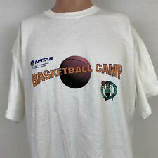 Boston Celtics Mens Training Camp T-Shirt Size XL Vintage NBA Basketball Cotton