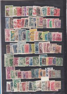 EUROPE de l EST      lot de  105   timbres obliteres  cote ??