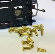hornby triang 00 X15 Wagons Coupling hook rivets New