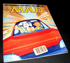 MAD Magazine 313 Sept 1992 VG Crash Test Dummy Alfred E Neuman Car Test Drive 1