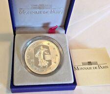 2004 France Silver Coin 1.5 Euro Le Semeuse The Sower Box COA Mintage-5000
