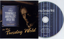 THE REAL TUESDAY WELD (Still) Terminally Ambivalent Over You UK 3-trk promo CD