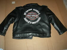 """Harley Davidson""""MY DADDY RIDES a HARLEY""""TODDLERS Jacket,AWESOME DESIGN,GR8 GIFT"""