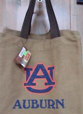 NWT New Womens Auburn AU Canvas Tote Also LSU & Alabama