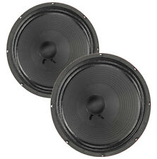 "Pair Eminence The Wizard 12"" Guitar Speaker Red Coat 16 ohm 103.5dB Replacement"